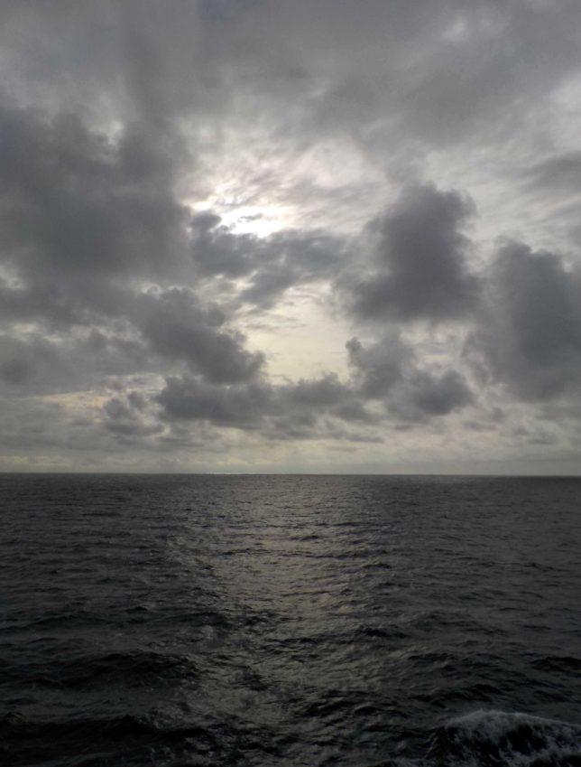 おが丸 船内からの景色