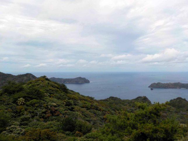 小笠原諸島父島中央山展望台からの絶景