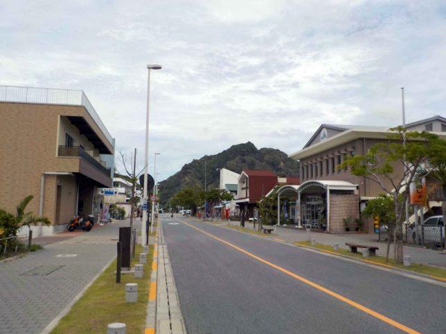 小笠原父島の街並み