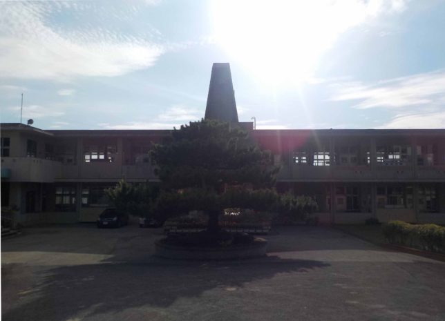 沖縄やんばるの北国小学校