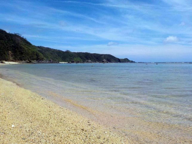 沖縄 やんばる ビーチ