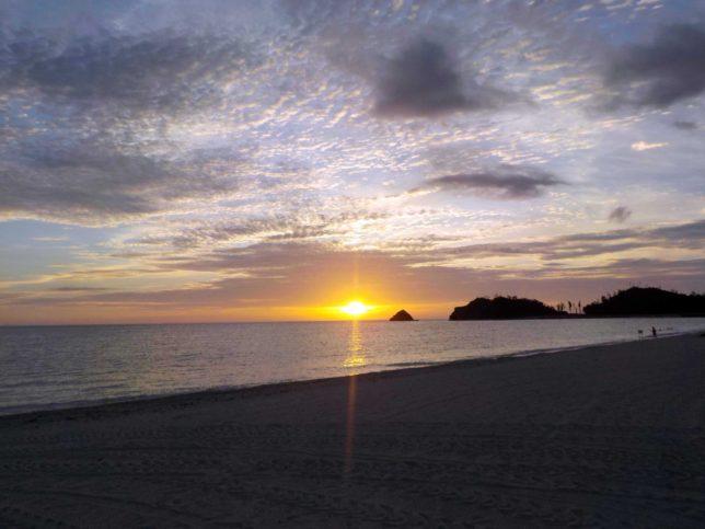 沖縄やんばるのサンセット
