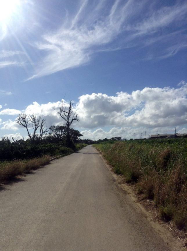 沖縄伊計島の風景