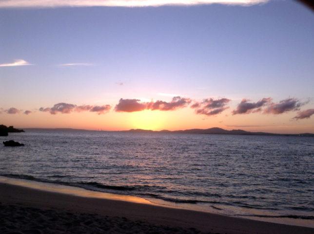 沖縄伊計島のサンセット