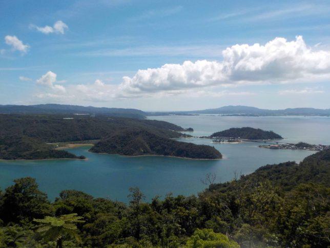 沖縄やんばる 展望台からの景色