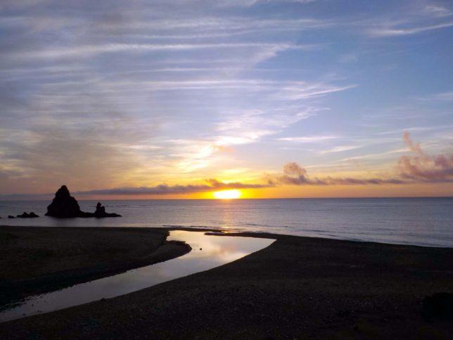 沖縄 やんばる 朝日