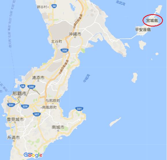 宮城島地図