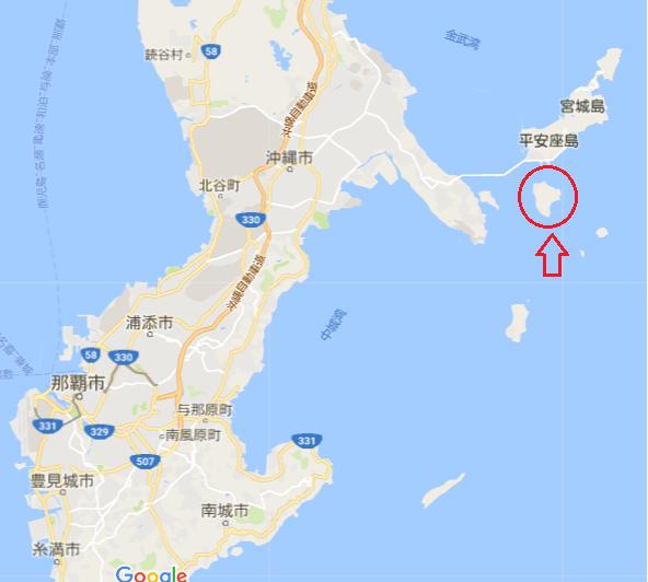 沖縄浜比嘉島