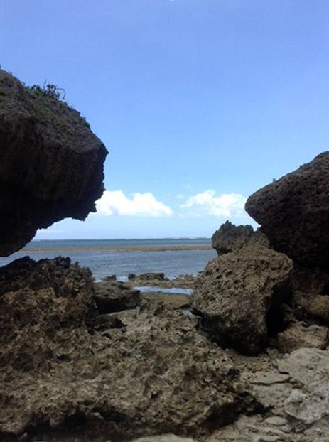 沖縄宮城島絶景までの道のり