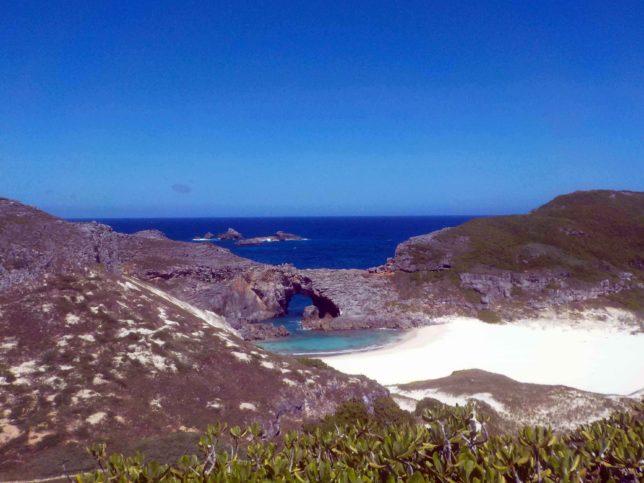 小笠原諸島 南島の絶景