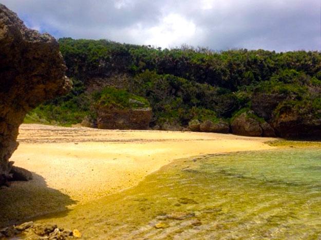 沖縄宮城島のビーチ